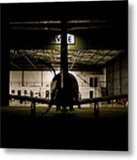 End Of The Shift Metal Print