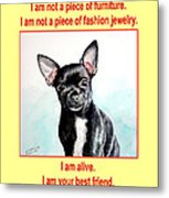 End The Puppy Mills Metal Print