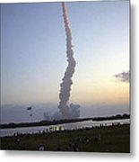 Endeavour Liftoff For Sts-59 Metal Print