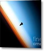Endeavour Silhouette Sts 130 Metal Print