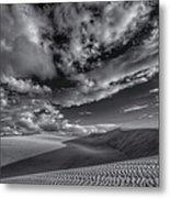 Endless Black And White Metal Print