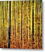 Energy Of The Forest Autumn Color Metal Print