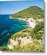Enfola Beach - Elba Island Metal Print