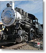 Engine 4455 In The Colorado Railroad Museum Metal Print