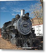 Engine 491 In The Colorado Railroad Museum Metal Print