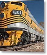 Engine 5771 In The Colorado Railroad Museum Metal Print