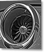 Engine Citation Cj2 Metal Print