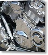 Engine Close-up 3 Metal Print