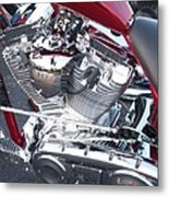 Engine Close-up 4 Metal Print