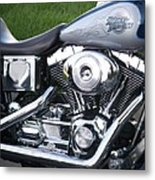 Engine Close-up 5 Metal Print