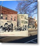Engine Co. No. 2 In Providence Ri Metal Print