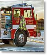 Engine Company 701 Metal Print