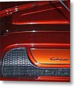 Engine Cover For 57 Nomad Metal Print