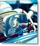 Engine Detail Metal Print