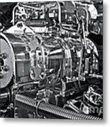 Engine Envy Metal Print by Linda Bianic