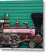 Engine Number 23 Unframed Metal Print