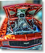 Chevrolet Camaro Rally Sport 1969 Metal Print