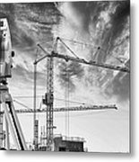 Engineering And Technology Metal Print