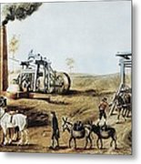 England 18th C.. Industrial Revolution Metal Print