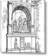 England Church Monument Metal Print