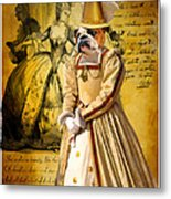 English Bulldog Art Canvas Print  Metal Print