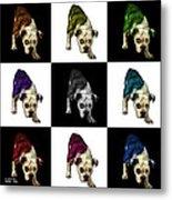 English Bulldog Dog Art - 1368 - V1 - M Metal Print