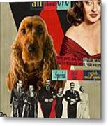 English Cocker Spaniel Art - All About Eve Metal Print