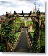 English Country Gardens - Series IIi Metal Print