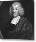 English Naturalist John Ray Metal Print