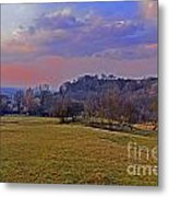 Cotswold Light Metal Print
