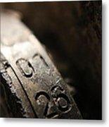 Enigma Numbers Metal Print