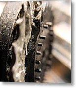 Enigma Wheel Metal Print
