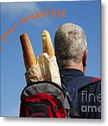 Enjoy Your Breakfast Metal Print