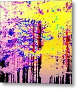 Enlightened Woods Are Here Again Ready To Surprise You  Metal Print