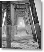 Enter At Your Own Risk Metal Print
