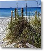 Enter The Beach Metal Print by Susan Leggett