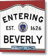 Entering Beverly Metal Print