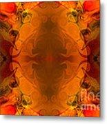 Entertaining Energy Abstract Pattern Artwork By Omaste Witkowski Metal Print