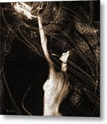 Entities Touch Metal Print