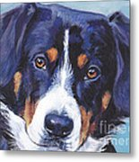 Entlebucher Mountain Dog Metal Print