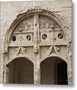Entrance Fontevraud Abbey- France Metal Print