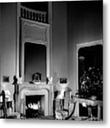 Entrance Hall Of Joan Bennett And Walter Wagner's Metal Print