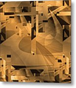 Design Square 39    Entrance To Obfuscation Metal Print