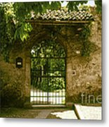 Entrance To Romeo And Juliet House Metal Print