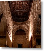 Entrance To The Ambassadors Hall In The Alhambra Metal Print