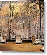 Entrance To Winter Metal Print