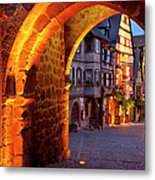 Entry To Riquewihr Metal Print