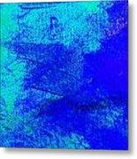 Envision Midnight Blue Metal Print