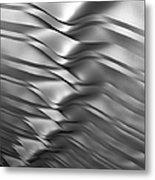 Eolian Silver Metal Print