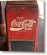 Epcot Old Coke Metal Print